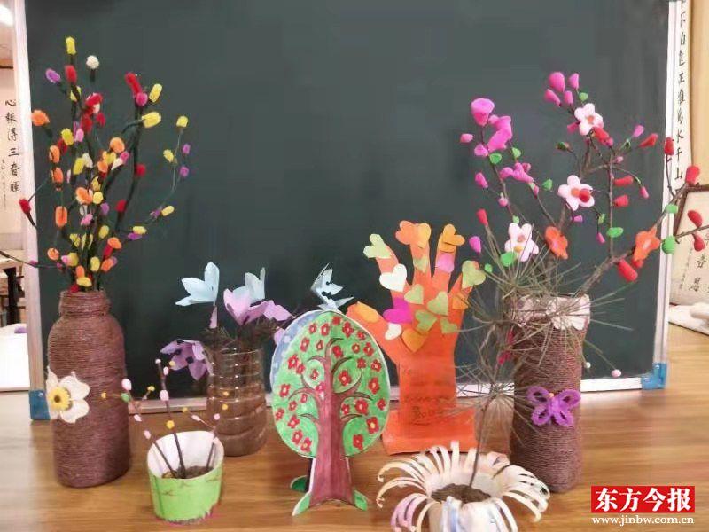 八堡小学梦想DIY社团植树节创意,与春天来了一场约会