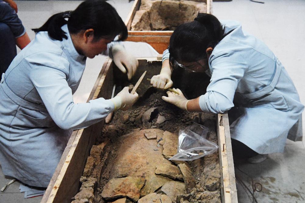 郑州发现中国最早的丝绸 距今5500年