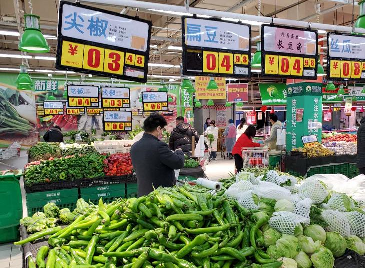 今天(20日)下午,郑州市政府再次启动疫情期间蔬菜临时投放