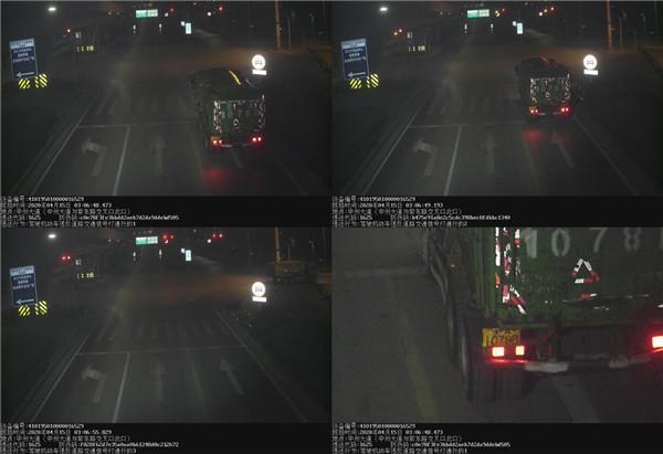 重型车频繁闯红灯 挑战交通法 曝光!重罚!