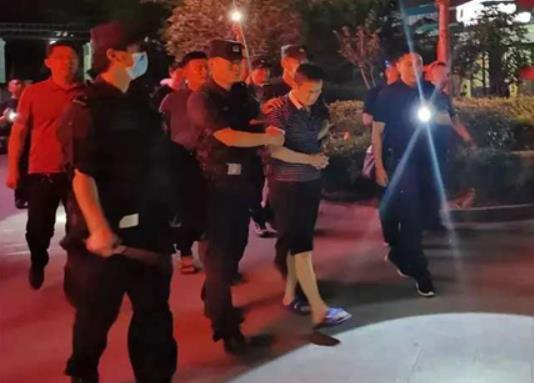 公安部A级通缉令涉黑在逃人员鹤壁落网,警方曾10万元悬赏通缉