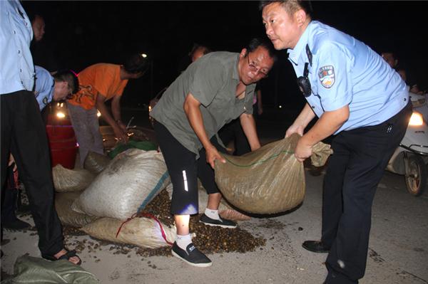 新野县公安局成功破获一起禁渔期内非法捕捞野生水产品案件