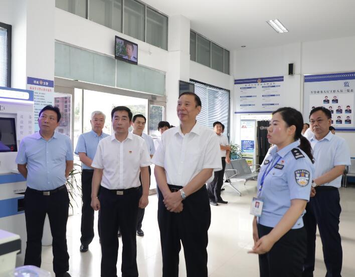 河南省人大法制委员会立法调研组莅临周口调研