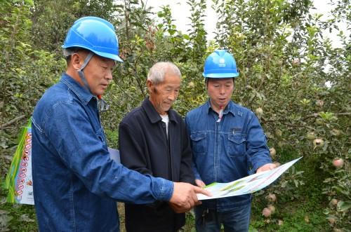 河南孟州:电力扶贫 情系果农
