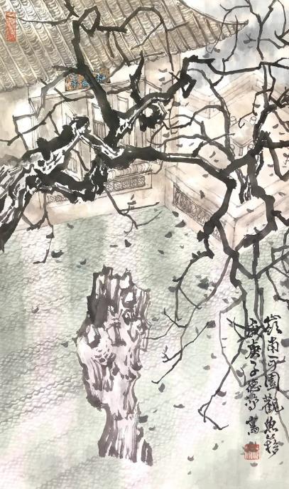 """数百万投资""""打水漂"""" 青年画家流浪街头作画,万元字画标价二百"""