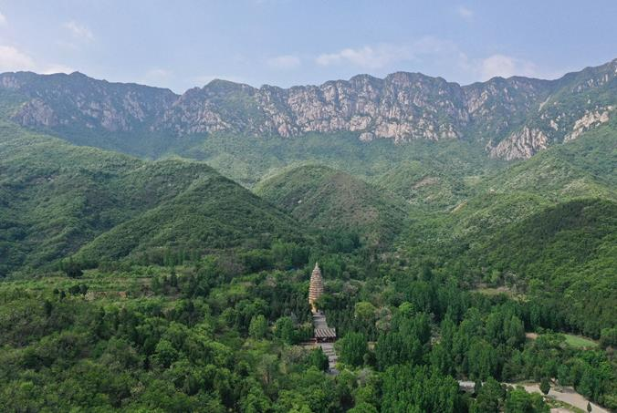 嵩岳寺塔创建1500年,《嵩岳寺塔》出版了