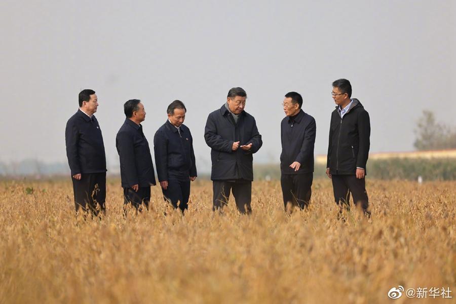 习近平继续在东营考察调研