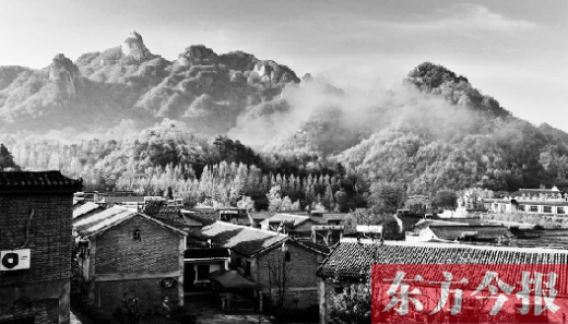 坐落于洛阳西泰山风景区的中国最美休闲乡村——牌路村